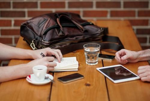 conexión social media