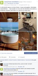 Facebook Casual Home. Decoración