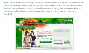 Facebook Knorr España. Engagement