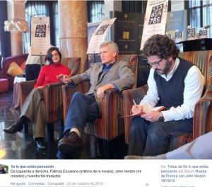 Facebook. Rueda de Prensa